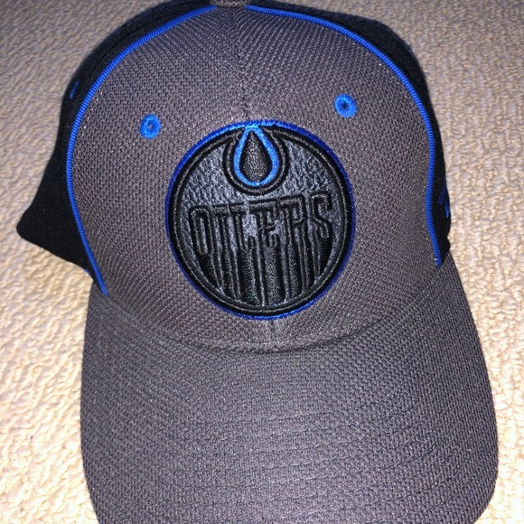 Oilers Fitted Hat